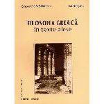 Filosofia greacă în texte alese