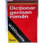 Dicționar german - român
