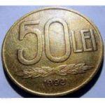 Monedă 50 LEI 1990-1995