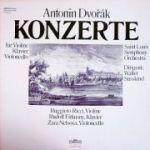DVORAK - Konzerte fur Violine, Klavier, Violloncello ( set 3 discuri vinil )