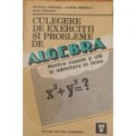 Culegere de exerciții și probleme de algebră pt. cls. V-VIII și admitere în liceu