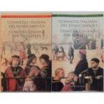 Comedia italiană din Renaștere ( 2 vol. - ediție bilingvă )