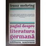 Pagini despre literatura germană
