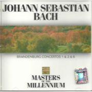 Johann Sebastian BACH : Bandenburg Concertos No. 1 & 2 & 6  (CD)