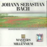 Johann Sebastian BACH : Bandenburg Concertos No. 3 & 4 & 5 (CD)