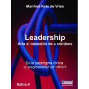 Leadership - arta şi măiestria de a conduce