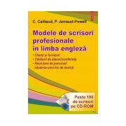 Modele de scrisori profesionale in limba engleza ( cu CD )