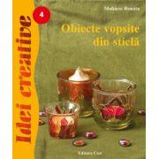 Obiecte vopsite din sticlă - Idei creative 4