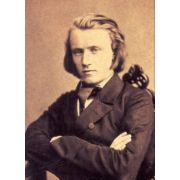 Johannes BRAHMS : Concerto for Piano and Orchestra No. 1 & Rhapsody for Alto, Choir and Orchestra  ( CD : 62,20 min )