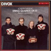 Joseph HAYDN : String Quartets Op. 77  (CD : 47,49 min )