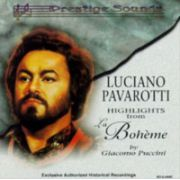 Luciano PAVAROTTI : Highlights form 'La Boheme'  ( CD )