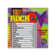 1981 Rock On - Top 40 Chartbusters  (CD)