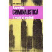Expertiza criminalistica a vocii si vorbirii