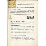 Secolul 20 nr. 1/1964