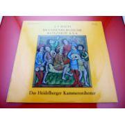 J. S. Bach - Brandenburgische Konzerte 4 - 5 - 6 ( vinil )