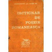 Dicționar de poezie românească