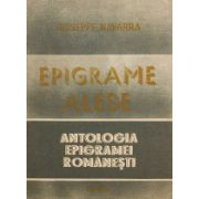 Epigrame alese - antologia epigramei românești