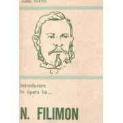 Introducere în opera lui N. Filimon