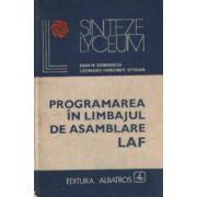Programarea în limbajul de asamblare LAF