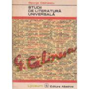 Studii de literatură universală