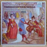 G. Ph. TELEMAN - Conclusionen und Soli der Tafelmusik ( vinil )