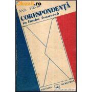Corespondență în limba franceză