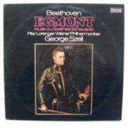 BEETHOVEN : Egmont, op. 84 - Musik zu Goethes Schauspiel  ( vinil )