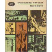 Enciclopedia franceză - texte alese