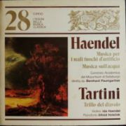 HAENDEL / TARTINI - Musica per i reali fuochi d'atificio / Trillo del diavolo ( vinil )