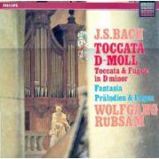 BACH - Toccata D-Moll * Fantasia * Praludium und Fugue ( vinil )