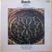 BACH - Motetten ( dublu disc vinil )