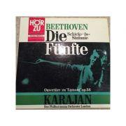 BEETHOVEN - Sinfonie Nr. 5 op. 67 * Ouverture zu 'Egmont' op. 84 (vinil )