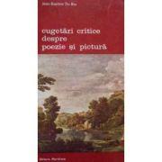 Cugetări critice despre poezie și pictură