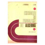 Exerciții și probleme de algebră pentru clasele IX-XII