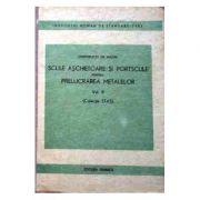 Scule așchietoare și portscule pentru prelucrarea metalelor (Colecție STAS, volumul II )