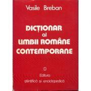 Dicționar al limbii române contemporane de uz curent