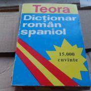 Dicționar român - spaniol ( 15. 000 cuvinte )