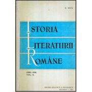 Istoria literaturii române. Vol 1 (1900-1918)