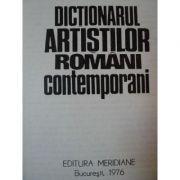 Dicționarul artiștilor români contemporani