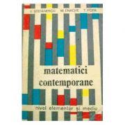 Matematici contemporane. Nivel elementar și mediu