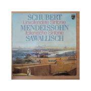 SCHUBERT * MENDELSSOHN: Unvollendete Sinfonie * Italienische Sinfonie ( disc vinil )