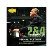 BEETHOVEN: Piano Concertos Nos. 2 & 4 (CD)