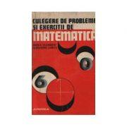 Culegere de probleme și exerciții de matematică