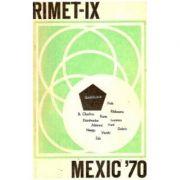 RIMET IX - Mexic 70