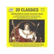 20 classics - Digitalaufnahmen von Bach bis Strauss (CD)
