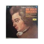 MOZART: Die Violin Konzerte ( set 3 discuri vinil )