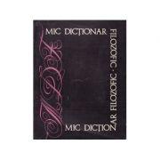 Mic dicţionar filozofic