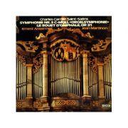 SAINT-SAENS: Symphonie nr. 3 c-moll 'Orgelsymphonie & Le rouet d'Omphale', op. 31 ( disc vinil )