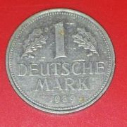 Monedă 1 Deutsche Mark 1970-1989
