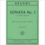 BRAHMS - Sonata No. 1 in E minor - Opus 38 for cello and piano